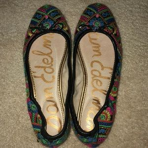 Sam Edelman Felicia multi color flats